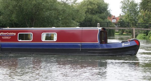 Self catering canal boat holiday -Gina 2